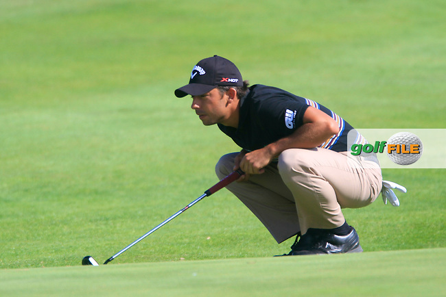 Pablo Larrazabal (ESP) in action  during the second round of the 40th Trophee Hassan II played at the Golf du Palais Royal d'Agadir, Agadir, Morocco 28 - 31 March 2013. (Picture Credit / Phil Inglis) www.golffile.ie