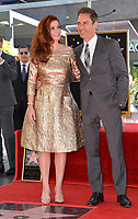 Debra Messing, Eric McCormack at the Hollywood Walk of Fame Star Ceremony honoring actress Debra Messing on Hollywood Boulevard, Los Angeles, USA 06 Oct. 2017<br /> Picture: Paul Smith/Featureflash/SilverHub 0208 004 5359 sales@silverhubmedia.com