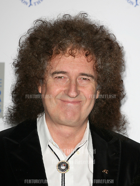 Brian May arriving at the The Laurence Olivier Awards 2010, Grosvenor House Hotel, London. 21/03/2010  Picture by: Alexandra Glen / Featureflash