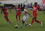 El estadio La Independencia de Tunja fue testigo este sábado por la tarde del empate sin goles entre Patriotas FC e Independiente Santa Fe, en compromiso correspondiente a la decimosegunda jornada del Torneo Apertura Colombiano 2015.