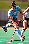 25 October 2009: Columbia University Lion midfielder/forward Katie DeSandis, a Freshman from Emmaus, PA, in action against the University of Vermont Catamounts at Moulton Winder Field in Burlington, Vermont. The Lions shut out the Catamounts 1-0. Mandatory Credit: Ed Wolfstein Photo