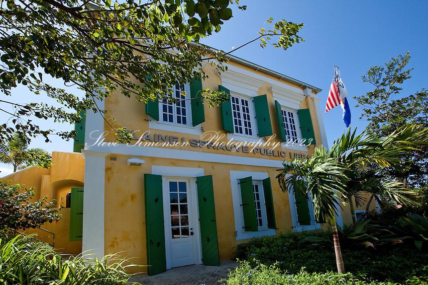 Elaine Sprauve Public Library<br /> Cruz Bay<br /> St. John<br /> U.S. Virgin Islands
