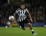 Kenedy of Newcastle United during the premier league match at Goodison Park Stadium, Liverpool. Picture date 23rd April 2018. Picture credit should read: Simon Bellis/Sportimage