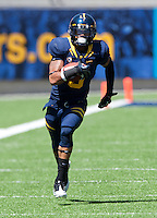 September 8, 2012: California's Chris Harper runs down the field during a game against Southern Utah at Memorial Stadium, Berkeley, Ca