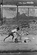 Bronx, New York City, NY - Summer of 1966 <br /> On Fox Street in the Bronx, street scene, kids playing.