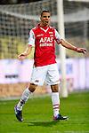 Nederland, Venlo, 25 januari 2013.Eredivisie.Seizoen 2012-2013.VVV Venlo-AZ.Adam Maher van AZ juicht en spreidt zijn armen nadat hij de 0-1 heeft gescoord.
