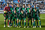 Team photo of RCD Espanyol during La Liga match between CD Leganes and RCD Espanyol at Butarque Stadium in Leganes, Spain. December 22, 2019. (ALTERPHOTOS/A. Perez Meca)