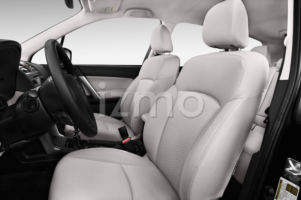 Front seat view of a 2015 Subaru Forester 2.5I Pzev 5 Door SUV front seat car photos
