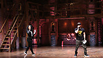 """Jennie Harney and Roddy Kennedy performs at The Rockefeller Foundation and The Gilder Lehrman Institute of American History sponsored High School student #EduHam matinee performance of """"Hamilton"""" at the Richard Rodgers Theatre on June 6, 2018 in New York City."""
