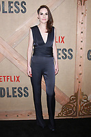 NEW YORK, NY - NOVEMBER 19: Michelle Dockery at the Netflix New York premiere of Godless at Metrograph in New York City on November 19, 2017. Credit: RWMediaPunch /NortePhoto.com