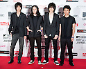 June 23, 2012, Chiba, Japan - BUMP OF CHICKEN pose on the red carpet during the MTV Video Music Awards Japan event. (Photo by Christopher Jue/AFLO)