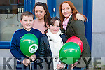 Enjoying the CH Chemist Annual Santa Parade on Saturday were Conor Lane, Ellie Lane, Aine Lane, Ailisa Buckley
