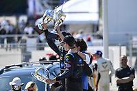 2017 IMSA WeatherTech SportsCar Championship<br /> BUBBA burger Sports Car Grand Prix at Long Beach<br /> Streets of Long Beach, CA USA<br /> Saturday 8 March 2017<br /> 10, Cadillac DPi, P, Ricky Taylor, Jordan Taylor<br /> World Copyright: Richard Dole/LAT Images