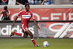 05 June 2009: Chicago's Patrick Nyarko. The Houston Dynamo defeated the Chicago Fire 1-0 at Toyota Park in Bridgeview, Illinois in a regular season Major League Soccer game.