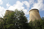 Pix: Shaun Flannery/shaunflanneryphotography.com...COPYRIGHT PICTURE>>SHAUN FLANNERY>01302-570814>>07778315553>>..7th June 2011.................Drax Power Limited..Drax Power Station, Selby, YO8 8PH.Cooling towers