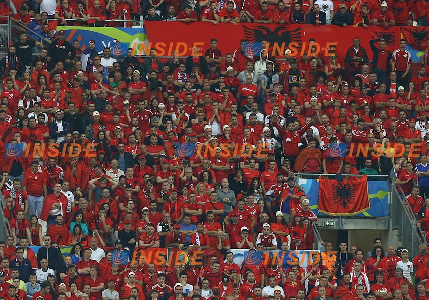 Albania supporters<br /> Marseille 15-06-2016 Stade Velodrome Footballl Euro2016 France - Albania / Francia - Albania Group Stage Group A. Foto Matteo Ciambelli / Insidefoto