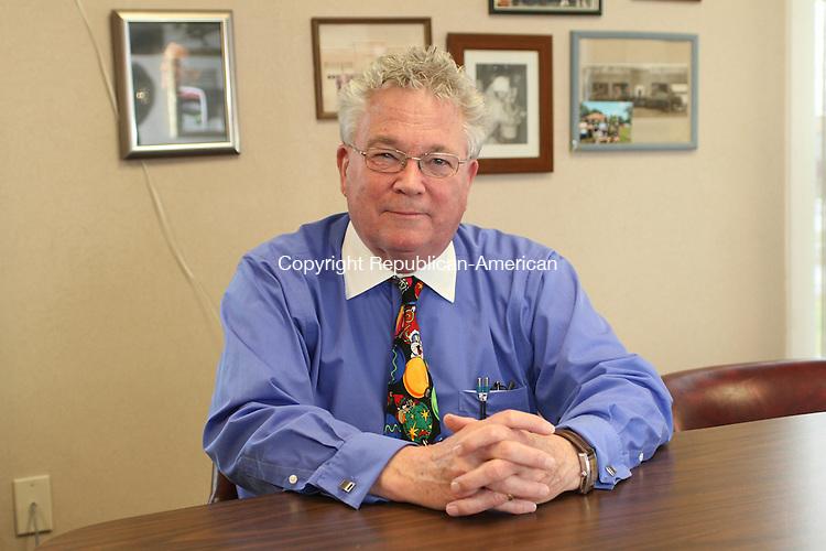 PROSPECT, CT, 22 December, 2015 - 122215LW02 - Prospect Mayor Robert Chatfield poses in his office Dec. 22.<br /> Laraine Weschler Republican-American