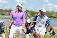 Tyrrell Hatton (ENG) heads to 7 during round 4 of the Arnold Palmer Invitational at Bay Hill Golf Club, Bay Hill, Florida. 3/10/2019.<br /> Picture: Golffile | Ken Murray<br /> <br /> <br /> All photo usage must carry mandatory copyright credit (© Golffile | Ken Murray)