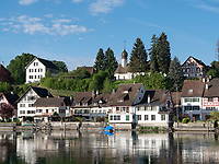 Rheinsee in Stein am Rhein, Kanton Schaffhausen, Schweiz<br /> Rhinelake (Rheinsee) in Stein am Rhein, Canton Schaffhausen, Switzerland