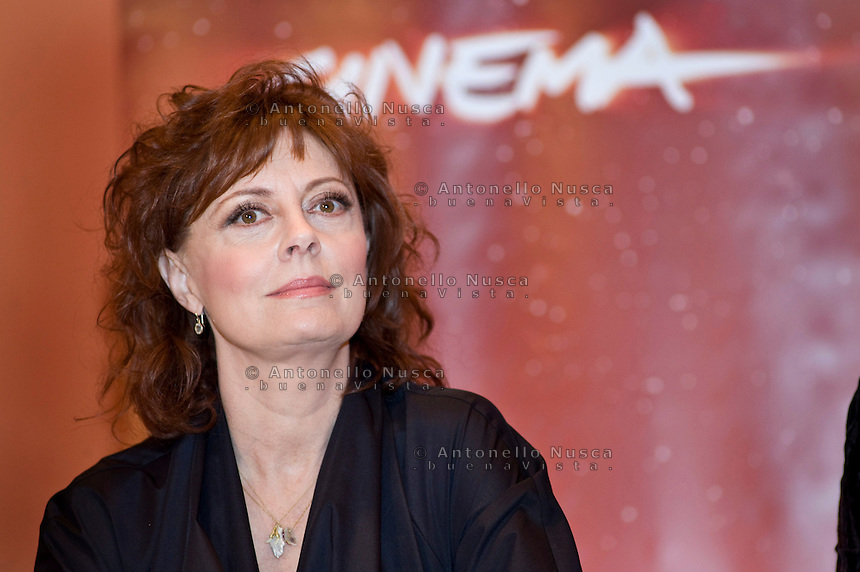Roma, 27 Febbraio, 2010. Susan Sarandon all'auditorium