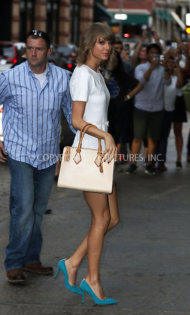 WWW.ACEPIXS.COM<br /> <br /> May 27 2015, New York City<br /> <br /> Singer Taylor Swift returns to her downtown apartment on May 27 2015 in New York City<br /> <br /> By Line: Zelig Shaul/ACE Pictures<br /> <br /> <br /> ACE Pictures, Inc.<br /> tel: 646 769 0430<br /> Email: info@acepixs.com<br /> www.acepixs.com