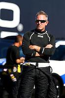 Jul. 26, 2013; Sonoma, CA, USA: NHRA top fuel dragster driver Tommy Johnson Jr during qualifying for the Sonoma Nationals at Sonoma Raceway. Mandatory Credit: Mark J. Rebilas-