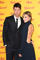Ryan Clark and Katherine Kelly<br /> arriving for the ITV Palooza at the Royal Festival Hall London<br /> <br /> ©Ash Knotek  D3444  16/10/2018