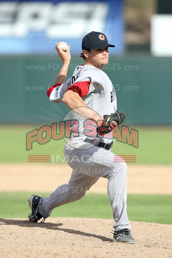 Dustin Richardson - Mesa Solar Sox, 2009 Arizona Fall League.Photo by:  Bill Mitchell/Four Seam Images..