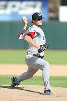Dustin Richardson - Mesa Solar Sox, 2009 Arizona Fall League.Photo by:  Bill Mitchell/Four Seam Images..