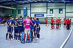 Mannheim, Germany, December 08: During the Bundesliga indoor men hockey match between Mannheimer HC and TSV Mannheim on December 8, 2019 at Irma-Roechling-Halle in Mannheim, Germany. Final score 3-6. (Copyright Dirk Markgraf / 265-images.com) ***