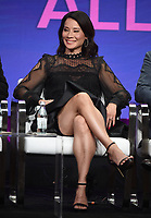 "BEVERLY HILLS - AUGUST 1: Lucy Liu onstage during the ""Why Women Kill"" panel at the CBS All Access portion of the Summer 2019 TCA Press Tour at the Beverly Hilton on August 1, 2019 in Los Angeles, California. (Photo by Frank Micelotta/PictureGroup)"