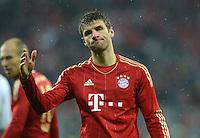 FUSSBALL   1. BUNDESLIGA  SAISON 2012/2013   9. Spieltag FC Bayern Muenchen - Bayer 04 Leverkusen    28.10.2012 Thomas Mueller (FC Bayern Muenchen)