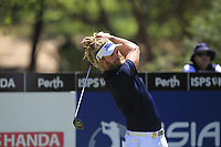 Jack Wilson (AUS) in action on the 2nd during Round 3 of the ISPS Handa World Super 6 Perth at Lake Karrinyup Country Club on the Saturday 10th February 2018.<br /> Picture:  Thos Caffrey / www.golffile.ie<br /> <br /> All photo usage must carry mandatory copyright credit (&copy; Golffile | Thos Caffrey)