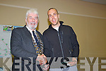 Mayor Wall with Winner of Tralee Marathon Simon Mangan (Gneeveguilla)