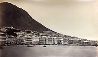 BNPS.co.uk (01202 558833)<br /> Pic: DominicWinterAuction/BNPS<br /> <br /> View west towards the Peak.<br /> <br /> Revealed - A fascinating photo album from the very early days of British Hong Kong...long before the skyscrapers covered it over.<br /> <br /> The 150 year old photos of Hong Kong taken by one of the first British photographers to venture to the Far East have emerged for sale for £15,000.<br /> <br /> John Thomson, who was also a geographer, left Edinburgh for Singapore in 1862 and spent the following decade travelling the region.<br /> <br /> He explored a decidely low-rise Hong Kong from 1868 to 1870, taking numerous pictures of the rapidly expanding settlement and its industrious inhabitants.<br /> <br /> They capture the area, which is currently engulfed in unrest and protest, at a far more tranquil time.<br /> <br /> The photos are being sold with auction house Dominic Winter, of Cirencester, Gloucs.