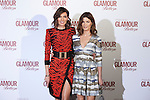 Nieves Alvarez (L) and Hanneli Mustaparta attend 2016 Glamour Belleza Awards en Madrid, Spain. February 04, 2016. (ALTERPHOTOS/Victor Blanco)