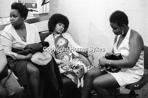 """Bob and Marcia. Young Gifted and Black"""" first British tour 1970s England. Marcia Griffith. 1970."""