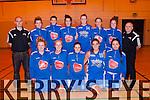 Imperials Basketball<br /> -----------------------<br /> front,L-R Deirdra Kearney,Lynn Jones(cpt)Cassendra Buckley,Rheanne O'Shea&amp;Danielle Pierse (back) L-R Gavin Daly(asst Coach)Amy Fitzgerald,Loretta Maher,Emma Sherwood,Roisin Lucy,Michelle Hoare,Maeve Carmody and Ger Tarrant (coach)