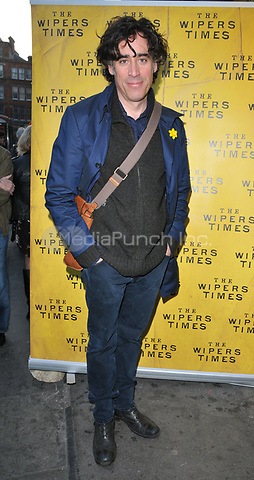 Stephen Mangan at the &quot;The Wipers Times&quot; press night, The Arts Theatre, Great Newport Street, London, England, UK, on Monday 27 March 2017.<br /> CAP/CAN<br /> &copy;CAN/Capital Pictures /MediaPunch ***NORTH AND SOUTH AMERICAS ONLY***