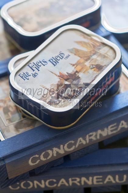 Europe/France/Bretagne/29/Finistère/ Concarneau:  Conserverie de sardines Gonidec
