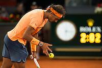 Spanish Rafael Nadal during Mutua Madrid Open Tennis 2016 in Madrid,  May 06, 2016. (ALTERPHOTOS/BorjaB.Hojas) /NortePhoto.com /NortePhoto