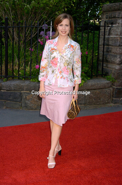 Martha Byrne ..at the Pre Daytime Emmy party at Gracie Mansion on..May 20, 2004