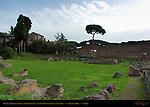 Domus Augustana Peristyle San Bonaventura al Palatino Palatine Hill Rome