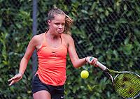 Hilversum, Netherlands, August 9, 2017, National Junior Championships, NJK, Margriet Timmermans<br /> Photo: Tennisimages/Henk Koster