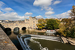 Pulteney Street Bridge, River Bath, England 1774