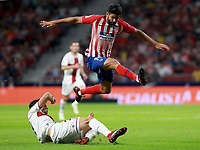 Atletico de Madrid vs Huesca Spanish league football match at Wanda Metropolitano in Madrid on September 25, 2018.<br /> Diego Costa