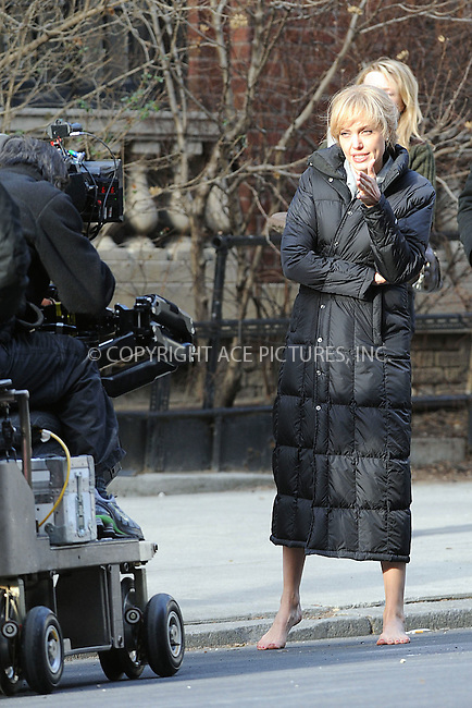 WWW.ACEPIXS.COM . . . . . ....March 13 2009, New York City....Actress Angelina Jolie on the Manhattan set of the new movie 'Salt' on March 13 2009 in New York City......Please byline: KRISTIN CALLAHAN - ACEPIXS.COM.. . . . . . ..Ace Pictures, Inc:  ..(212) 243-8787 or (646) 679 0430..e-mail: picturedesk@acepixs.com..web: http://www.acepixs.com