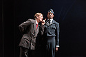 London, UK. 05.10.2016. English Touring Opera presents XERXES, by George Frideric Handel, at the Hackney Empire, prior to setting off on a UK tour. Picture shows: Julia Riley (Xerxes), Peter Brathwaite (Elviro). Photograph © Jane Hobson.