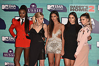 Leomie Anderson, Caroline Daur, Cindy Kimberly, Monica Geuze and Sofia Reyes<br /> MTV EMA Awards 2017 in Wembley, London, England on November 12, 2017<br /> CAP/PL<br /> &copy;Phil Loftus/Capital Pictures