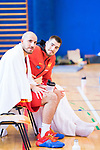 Quino Colom and Juancho Hernan Gomez after the training of Spanish National Team of Basketball 2019 . July 26, 2019. (ALTERPHOTOS/Francis González)